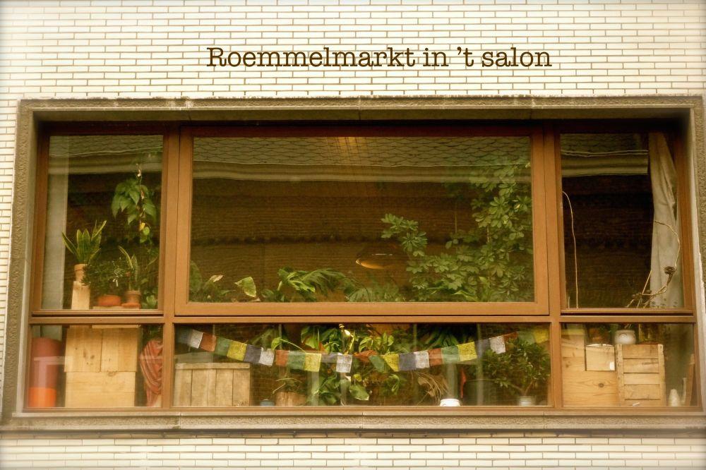 Roemmelmarkt in 't salon