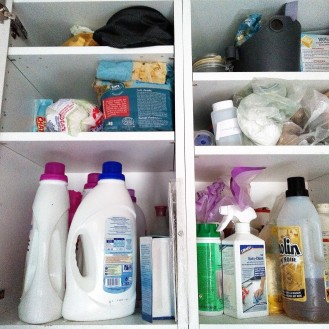 opruimen en organiseren wasruimte 3