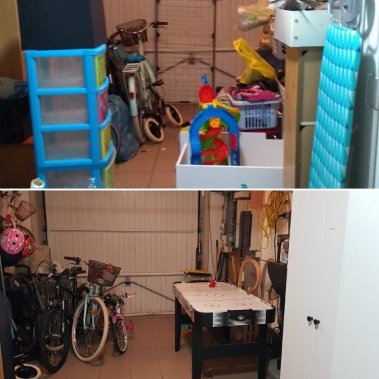 garage opruimen
